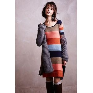 Anthropologie Isabella Sinclair Colorstack Sweater